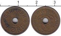 Изображение Монеты Дания 1 эре 1928 Бронза XF