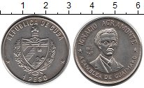 Изображение Монеты Куба 1 песо 1977 Медно-никель UNC- Аграмонте