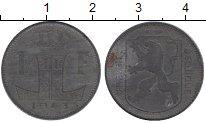 Изображение Монеты Европа Бельгия 1 франк 1943 Цинк XF