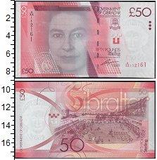 Изображение Банкноты Великобритания Гибралтар 50 фунтов 2010  UNC