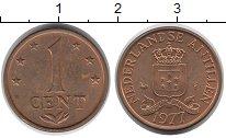 Изображение Монеты Антильские острова 1 цент 1977 Бронза XF