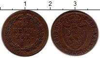 Изображение Монеты Германия Нассау 1/4 крейцера 1819 Медь XF
