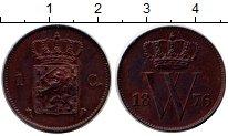 Изображение Монеты Европа Нидерланды 1 цент 1876 Медь XF