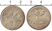 Изображение Монеты Европа Германия 1 марка 1910 Серебро XF