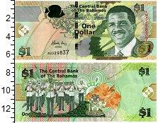 Изображение Банкноты Багамские острова 1 доллар 2015  UNC