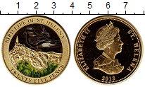 Изображение Монеты Остров Святой Елены 25 пенсов 2013 Латунь Proof-