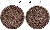 Изображение Монеты Европа Германия 1 марка 1878 Серебро VF