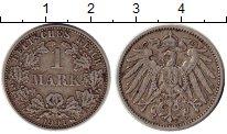 Изображение Монеты Германия 1 марка 1901 Серебро XF A