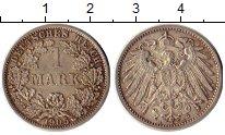 Изображение Монеты Германия 1 марка 1905 Серебро XF+