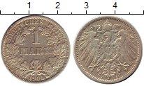 Изображение Монеты Германия 1 марка 1906 Серебро XF A