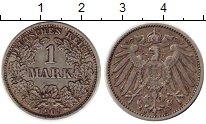 Изображение Монеты Германия 1 марка 1906 Серебро XF D