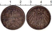 Изображение Монеты Германия 1 марка 1906 Серебро XF- J