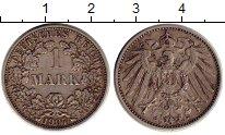 Изображение Монеты Германия 1 марка 1907 Серебро XF F