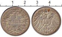 Изображение Монеты Европа Германия 1 марка 1908 Серебро XF