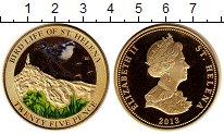 Изображение Монеты Остров Святой Елены 25 пенсов 2013 Биметалл Proof-