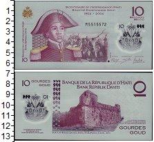 Изображение Банкноты Северная Америка Гаити 10 гурдов 2013  UNC