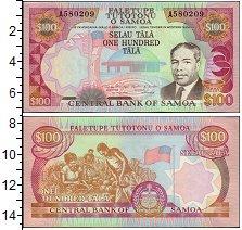 Изображение Банкноты Самоа 100 тал 0  UNC