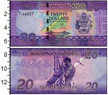 Изображение Банкноты Австралия и Океания Соломоновы острова 20 долларов 2015  UNC
