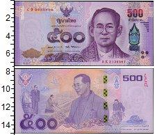 Изображение Банкноты Таиланд 500 бат 2017  UNC