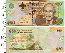 Изображение Банкноты Багамские острова 50 долларов 2006  UNC