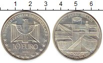 Изображение Монеты Европа Германия 10 евро 2002 Серебро UNC-