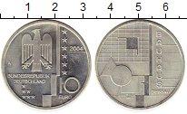 Изображение Монеты Германия 10 евро 2004 Серебро UNC- Баухауз