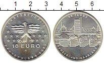 Изображение Монеты Германия 10 евро 2007 Серебро UNC- 50 лет федеральной з