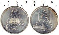 Изображение Монеты Германия 10 евро 2009 Серебро UNC- 100 лет хостел-движе