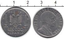 Изображение Монеты Европа Албания 0,2 лек 1939 Медно-никель XF