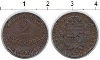 Изображение Монеты Германия Саксен-Кобург-Готта 2 пфеннига 1870 Медь XF