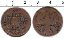 Изображение Монеты Германия Ахен 12 хеллеров 1792 Медь VF