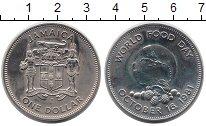 Изображение Монеты Северная Америка Ямайка 1 доллар 1981 Медно-никель Proof-