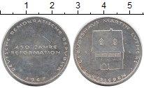 Изображение Монеты ГДР Медаль 1967 Серебро UNC- 450 лет реформации,М