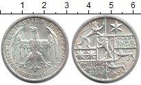Изображение Монеты Веймарская республика 3 марки 1927 Серебро UNC-