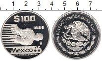 Изображение Монеты Северная Америка Мексика 100 песо 1986 Серебро Proof-