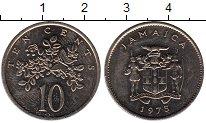 Изображение Монеты Северная Америка Ямайка 10 центов 1975 Медно-никель UNC-