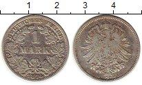 Изображение Монеты Европа Германия 1 марка 1874 Серебро XF-