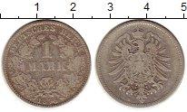Изображение Монеты Европа Германия 1 марка 1875 Серебро XF-