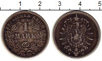 Изображение Монеты Германия 1 марка 1875 Серебро XF- F