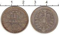 Изображение Монеты Европа Германия 1 марка 1876 Серебро XF-