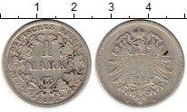 Изображение Монеты Германия 1 марка 1881 Серебро XF-
