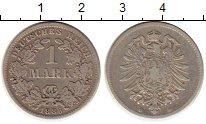 Изображение Монеты Германия 1 марка 1886 Серебро XF-