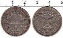 Изображение Монеты Европа Германия 1 марка 1896 Серебро XF