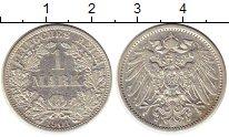 Изображение Монеты Европа Германия 1 марка 1901 Серебро XF