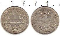 Изображение Монеты Европа Германия 1 марка 1907 Серебро XF