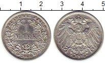 Изображение Монеты Германия 1 марка 1909 Серебро XF