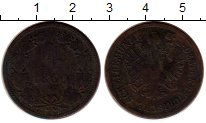Изображение Монеты Европа Австрия 4 крейцера 1860 Медь VF