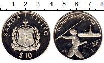Изображение Монеты Австралия и Океания Самоа 10 долларов 1991 Серебро Proof