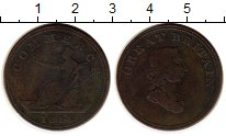 Изображение Монеты Европа Великобритания 1/2 пенни 1814 Медь VF