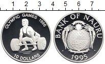 Изображение Монеты Австралия и Океания Науру 10 долларов 1995 Серебро Proof